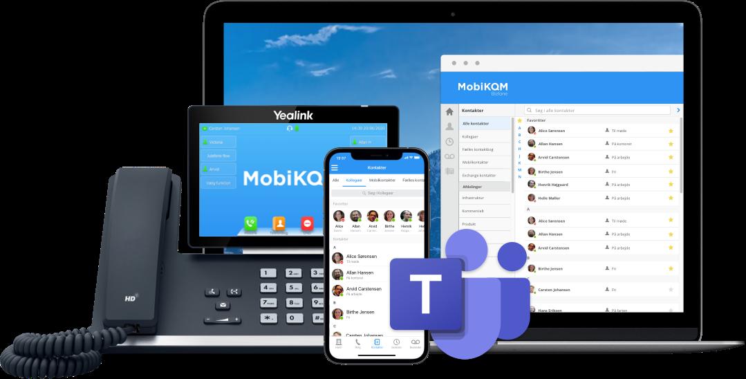 MobiKOM Telefoni til erhverv